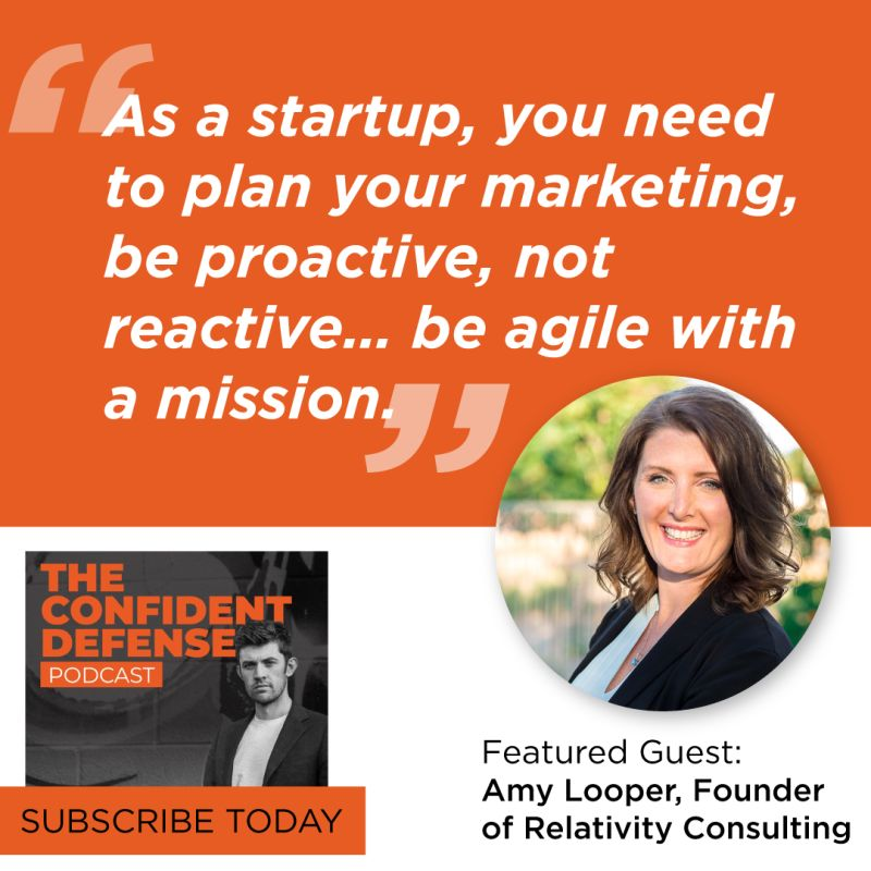 """""""As a startup, you need to plan your marketing, be proactive, not reactive... be agile with a mission."""""""